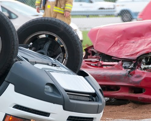 work-related auto accident injury