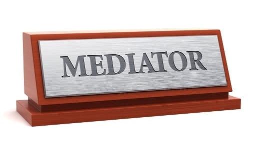 choosing a mediator.