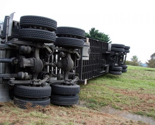truck accident case